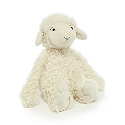 Jellycat - Cream 'Raggedy' lamb