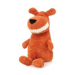 Jellycat - Orange 'Toothy' mutt