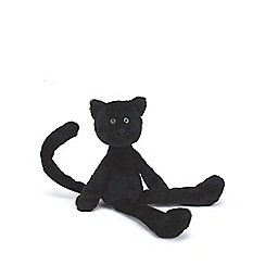 Jellycat - Black 'Caspar' medium cat