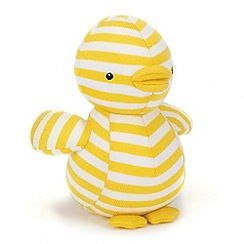 Jelly Cat - Yellow 'Dilys' duck with chime