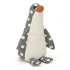 Jelly Kitten - Grey polka dot penguin
