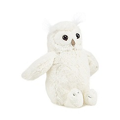 Jellycat - Off white small owl cuddly toy