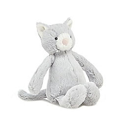 Jellycat - Light grey small kitty cuddly toy