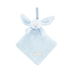 Jellycat - Light blue soft sleepy bunny book
