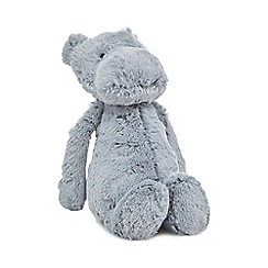 Jellycat - Grey medium hippo cuddly toy