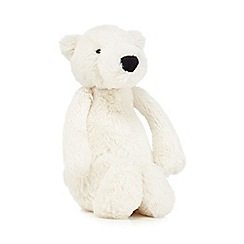 Jellycat - Off white plush polar bear toy