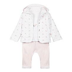 J by Jasper Conran - Baby girls' pink three piece set