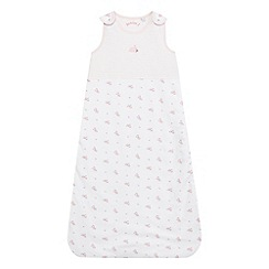 J by Jasper Conran - Baby girls' pink floral print sleeping bag