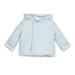 J by Jasper Conran - Baby boys' pale blue cord quilted jacket