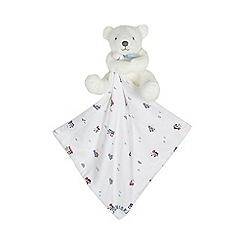 J by Jasper Conran - Baby boys' white teddy comforter