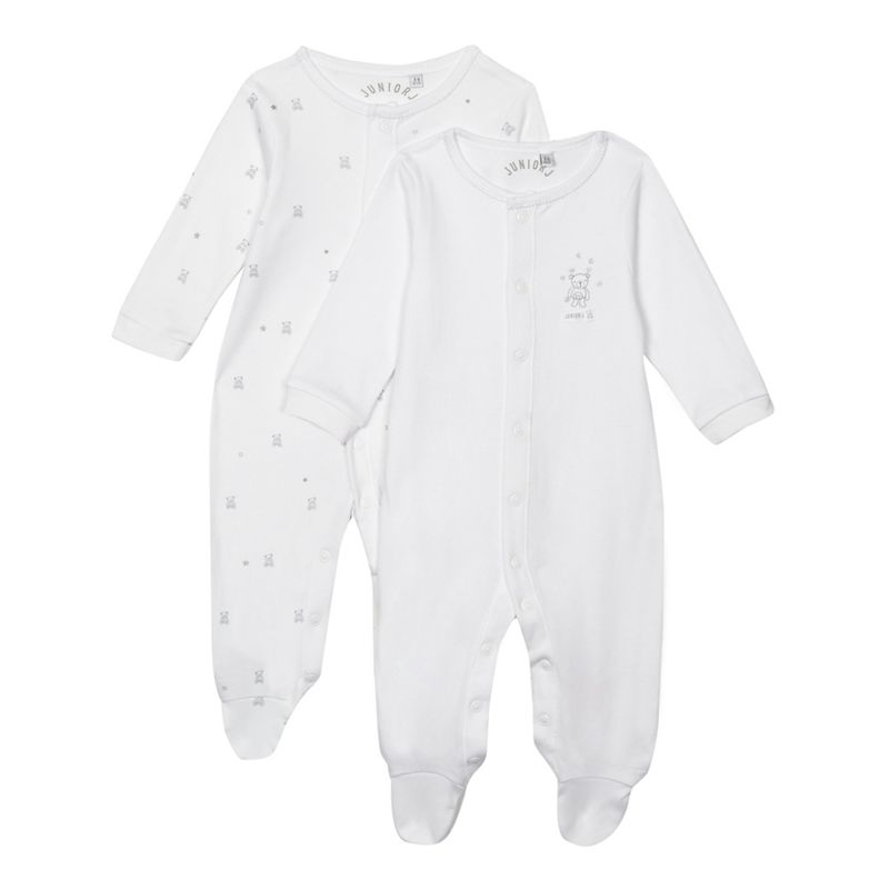 J by Jasper Conran Designer Pack of Two Babies White Bear