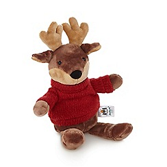 Jelly Cat - Brown 'Toastie' small reindeer