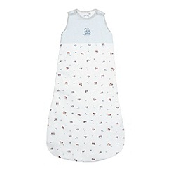 J by Jasper Conran - Babies pale blue sleepsuit bag