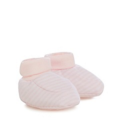 J by Jasper Conran - Baby girls' pack of two booties