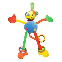 Jelly Kitten - Babies multi hoopy loopy monkey toy