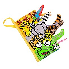 Jelly Cat - Babies jungle tails book