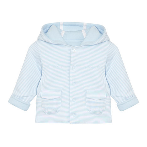 J by Jasper Conran - Designer Babies pale blue striped jacket