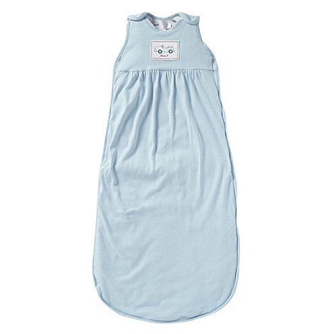 J by Jasper Conran - Designer Babies pale blue jersey sleeping bag
