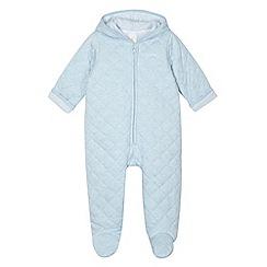 J by Jasper Conran - Designer babies pale blue sleepsuit