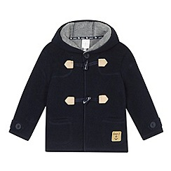 J by Jasper Conran - Designer babies navy fleece duffle coat