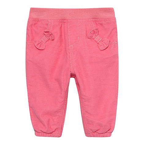bluezoo - Babies pink cord trousers