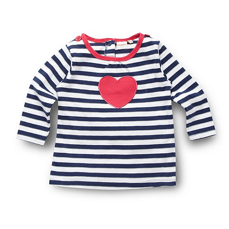 bluezoo - Babies blue striped tunic