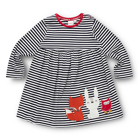 bluezoo - Babies navy animal dress