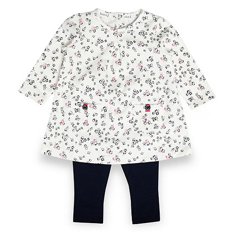 J by Jasper Conran - Designer babies navy floral tunic and leggings set
