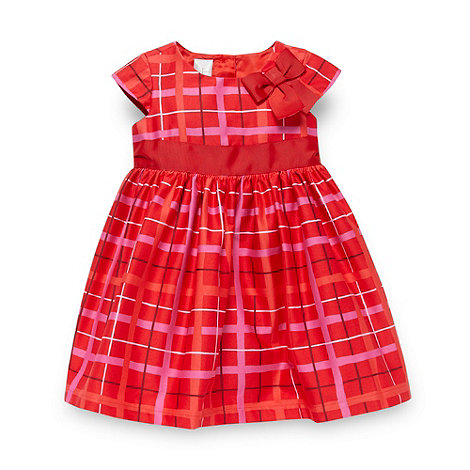 J by Jasper Conran - Designer babies red checked dress