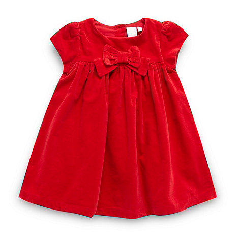 J by Jasper Conran - Designer babies red cord bow dress
