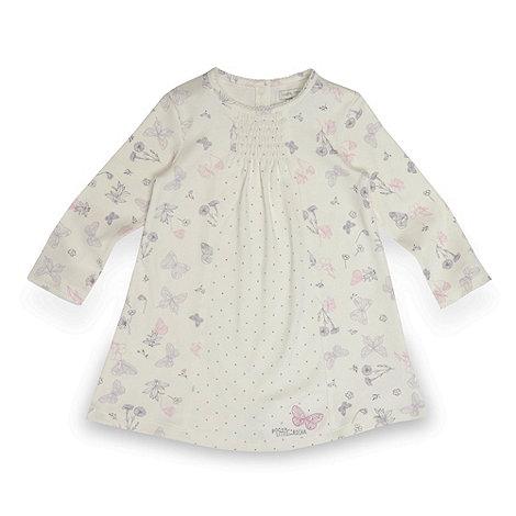 RJR.John Rocha - Designer babies cream butterfly dress