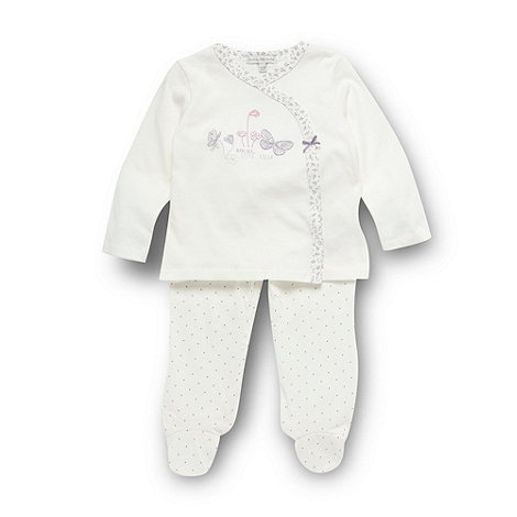 RJR.John Rocha - Designer babies off white butterfly top and leggings set