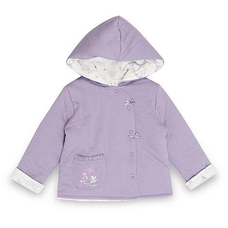 RJR.John Rocha - Designer babies lilac quilted jacket