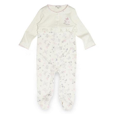 RJR.John Rocha - Designer babies cream butterfly sleepsuit