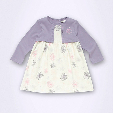 RJR.John Rocha - Designer babies cream 2 in 1 dandelion dress