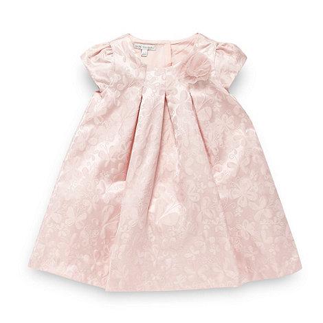 RJR.John Rocha - Designer babies pink butterfly brocade dress