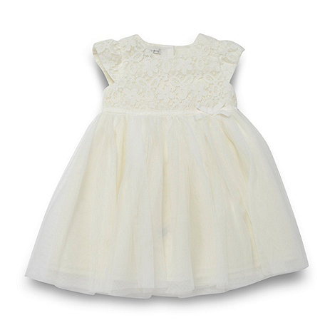 RJR.John Rocha - Designer babies cream lace party dress