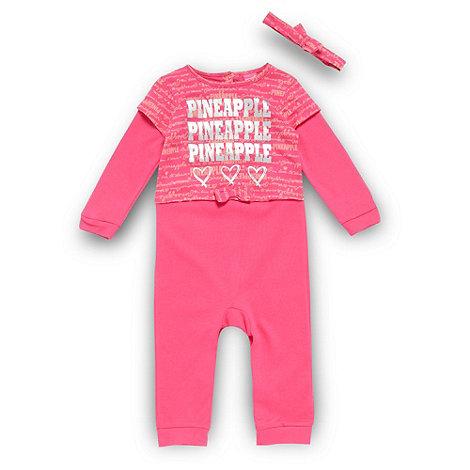 Pineapple - Babies one piece romper suit