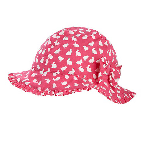 bluezoo - Babies pink bunny hat