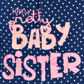 bluezoo - Babies navy +Baby Sister+ t-shirt Alternative 2