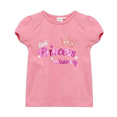 bluezoo - Babies pink +Princess+ print t-shirt