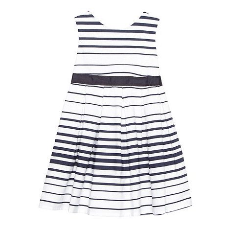 J by Jasper Conran - Designer babies white striped dress