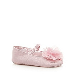 RJR.John Rocha - Designer babies pink corsage shoes