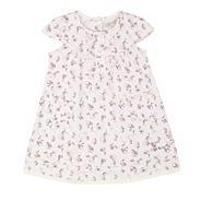 Designer babies pink floral dress