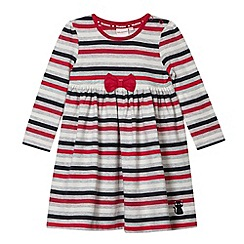 bluezoo - Babies light grey striped dress