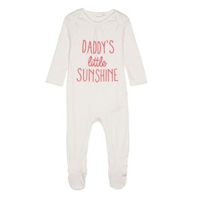 bluezoo Babies ´Little Sunshine´ sleepsuit - . -