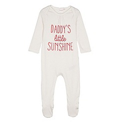 bluezoo - Babies 'Little Sunshine' sleepsuit