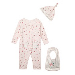 bluezoo - Babies pink four piece starter set