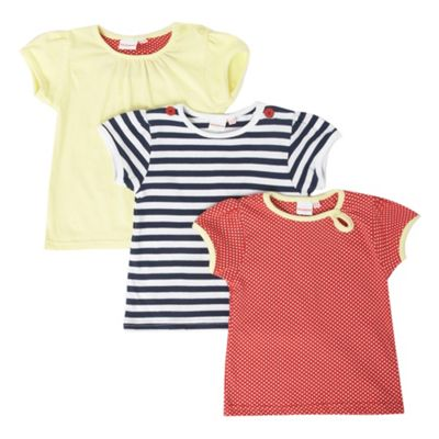 Pack of three babies t-shirts