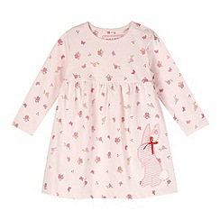bluezoo - Babies pink floral bunny dress